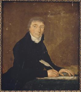 Portret van waarschijnlijk Petrus (Pieter) Pijpers (1748-1805)