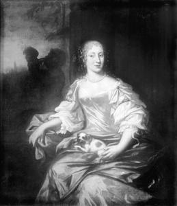 Portret van Maria Elisabet (1634-1665)