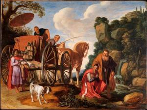 De doop van de kamerling (Hand. 8:31-38)