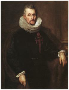 Portret van Ferdinand van Boisschot, heer van Saventhem  (1560-1649), als ridder van de Orde van Santiago
