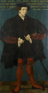 Portret van Worp van Ropta (1504-1551)