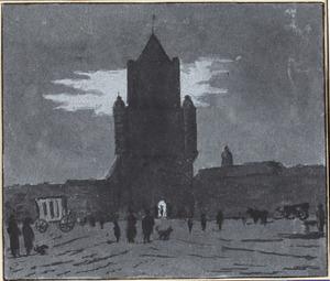 De Spaarnwouder of Amsterdamse Poort te Haarlem