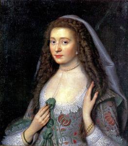 Portret van Amalia van Solms-Braunfels (1602-1675)