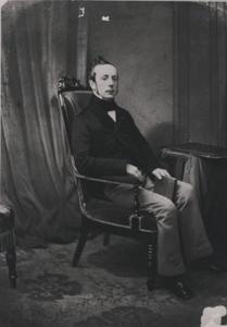 Portret van Jan Fontein Tuinhout (1817-1885)