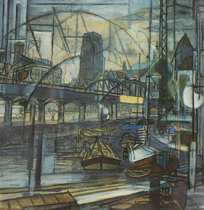 Elementen betreffende leven en werk in Rotterdam