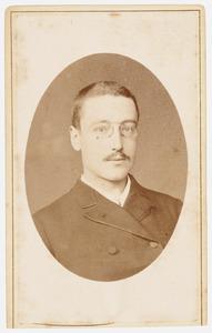 Portret van Jacobus Marinus Cornelis Quarles de Quarles (1860-1945)