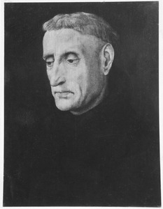 Portret van een benedictijner monnik