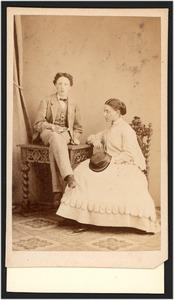 Portret van Jacob Willem Gustaaf Boreel (1852-1937) en Maria Boreel (1850-1919)