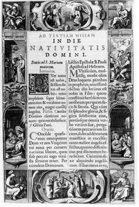 Tekeningen bij Missale Romanum