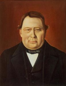 Portret van Jan Commandeur (1784-1864)
