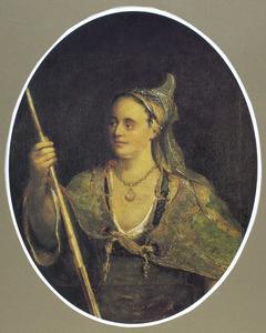Vrouwelijke allegorische figuur