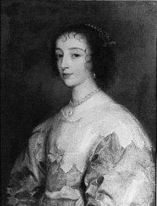 Portret van koningin Henrietta Maria (1609-1669)