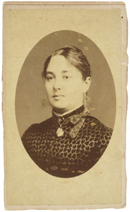 Portret van Jacoba Barbara Schuller tot Peursum (1851-1893)