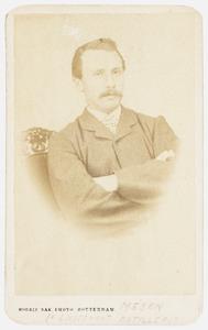Portret van lt. Meijen