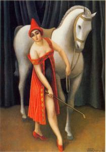 Paardrijdster