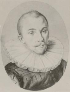 Portret van Cornelis Jorisz gen. Roodhoorn (1564-1599)