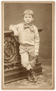 Portret van IJsbrand Anton Schuller tot Peursum (1875-1950)