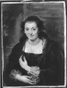 Portret van Isabella Brandt