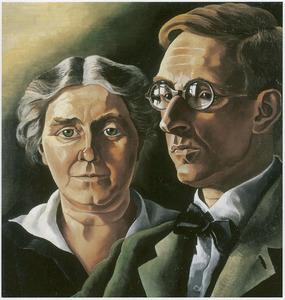 Portret van Jakob Nieweg (1877-1955) en Neine Geertruida van der Meulen (1879-1961)
