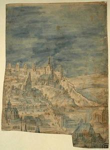 Gezicht op Praag (fragment)
