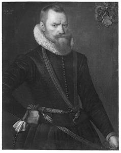 Portret van Juw (Julius) van Eysinga (1563/1564-1631)