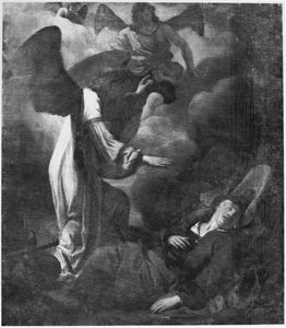 De engel zegent Jacob en geeft hem zijn nieuwe naam, Israël (Genesis 32: 28-29)
