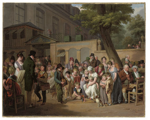 Ingang van het 'Café Turc' of 'Jardin Turc'