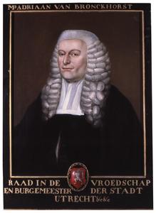 Portret van Adriaan van Bronckhorst (1728-1806)