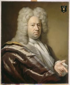 Portret van Andries van der Goes (1680-1730)