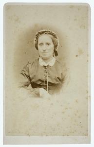 Portret van Guliana Cornelia Wolterbeek (1810-1874)