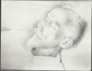 Portret van Moricz Goth (1873-1944)