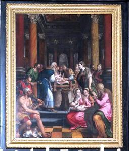 De besnijdenis van Christus (Lukas 2:21)