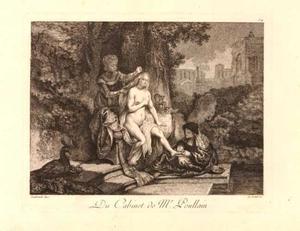 Batseba aan haar toilet (2 Samuel 11:2)