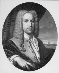 Portret van Ascanius van Sypesteyn (1694-1744)