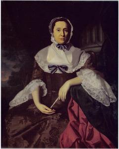 Portret van Mrs. John Barrett