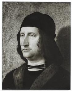 Portret van een man, voorheen achtereenvolgens geïdentificeerd als Jan van Arkel en Otto van Arkel
