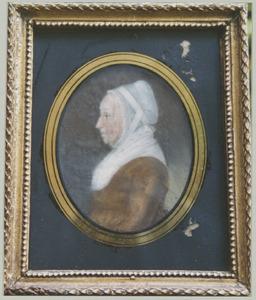 Portret van Hilletje van Staveren (1765-1828)