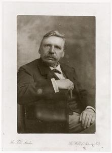 Portret van de kunstenaar Albert Neuhuys (1844-1914)