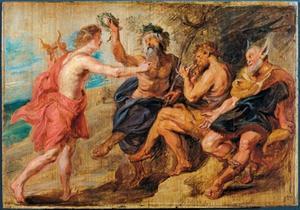 Het oordeel van Midas (Ovidius, Metamorfosen, XI, 146-169)