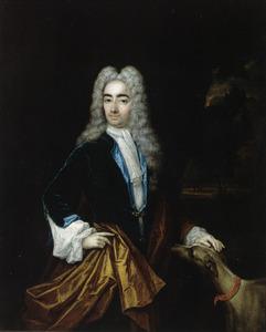 Portret van een persoon genaamd Henry Bentinck (1682-1726)
