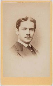 Portret van Willem Karel Frederik Pieter graaf van Bylandt (1841-1924)