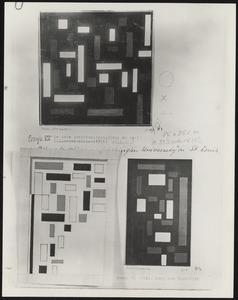 Compositie VII (de drie gratiën)