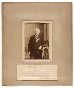 Portret van Johan Hendrik Meijer (1831-1892)