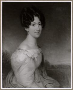 Portret van Hermanna Aleida Bruce (1805-1843)