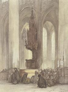 Interieur van de Sint Jan te 's-Hertogenbosch