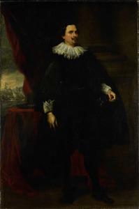 Portret van een man, mogelijk François van der Borght (?-?)