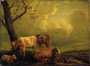 Vee en een schaap