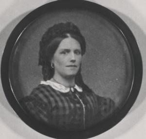 Portret van Eva Fontein (1827-1903)