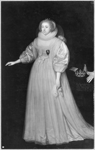 Portret van Frances Howard, hertogin van Richmond en Lennox (1578-1639)
