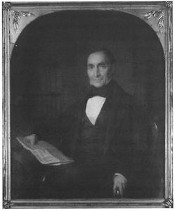 Portret van Jan Jacob Tijl (1798-1851)